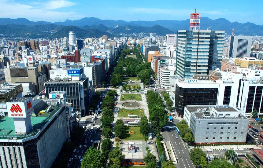 Sapporo City area